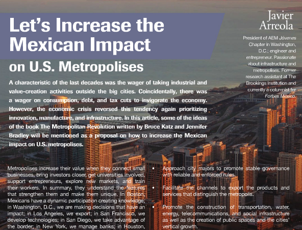 Let's Increase the Mexican Impact on U.S. Metros