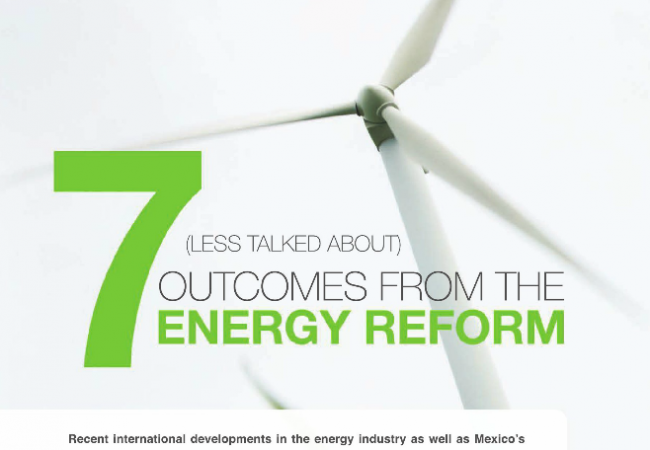 7 (Less Talked About) Outcomes from the Energy Reform