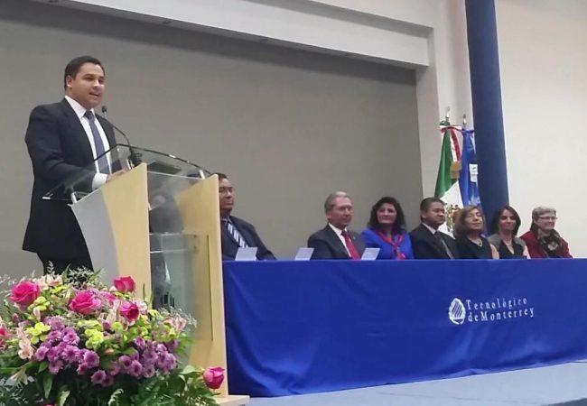 """Discurso a alumnos distinguidos en los """"Premios Excelencia"""" de la Prepa Tec Campus Querétaro, 2017"""