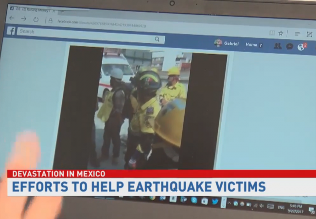 Local Mexican-Americans start relief fund to help earthquake survivors in Mexico City